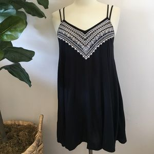 American Eagle Embroidered Dress